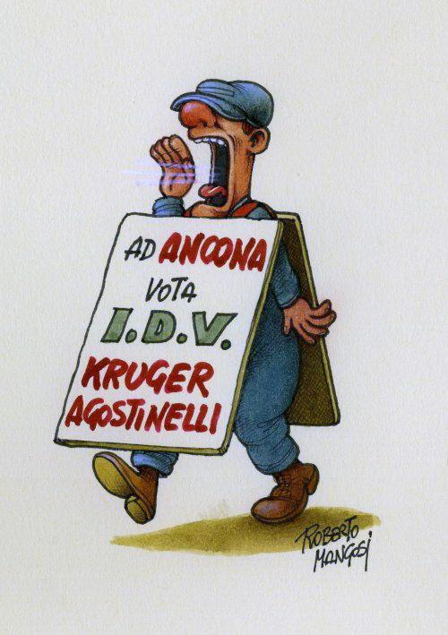 Vota Kruger di Roberto Mangosi