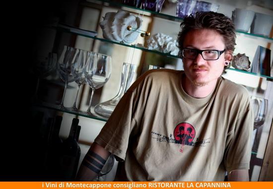 Alessandro Alecz Fiorini del Ristorante La Capannina di Portonovo