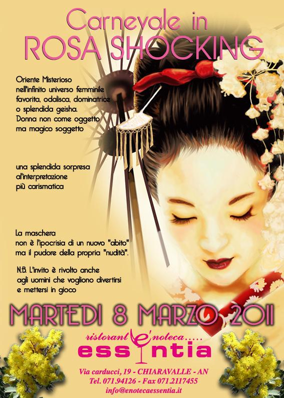 8 MARZO 2011 Essentia Chiaravalle Ancona Regione Marche Carnevale Martedì Grasso