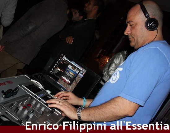 Enrico Filippini Essentia Chiaravalle disc jockey dee jay Ancona