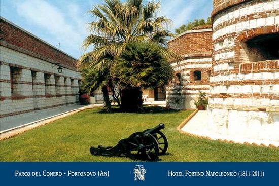 interno Portonovo Hotel Fortino Napoleonico Parco del Conero Regione Marche