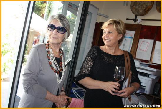 Teresa Cremona insieme a Elsa Mazzolini