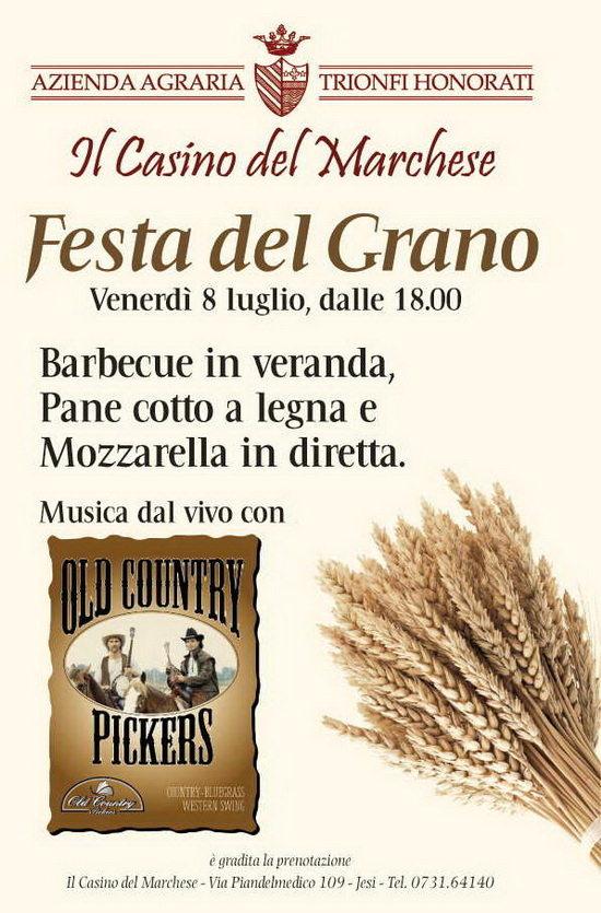 festa del grano Casino del Marchese jesi