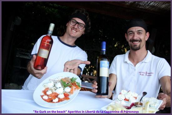 pesce e formaggio portonovo la capannina Alessandro Fiorini Pietro Gigliarelli