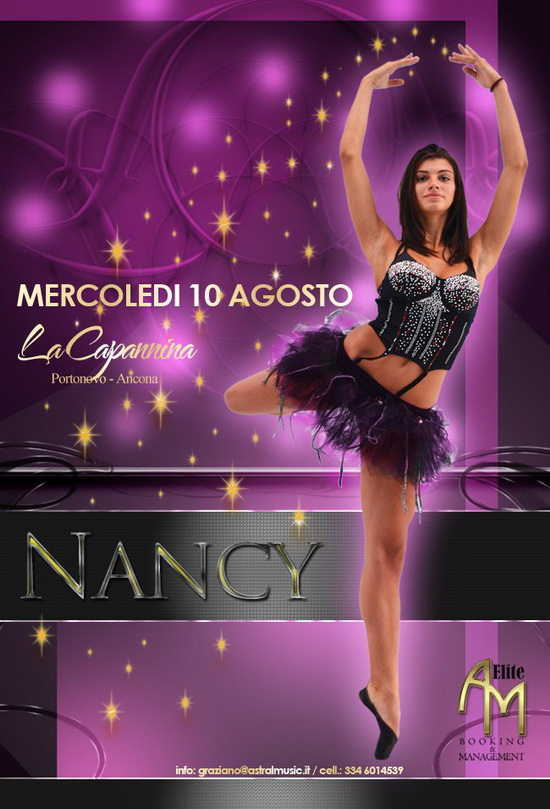 Nancy Notte delle Stelle La Capannina Portonovo