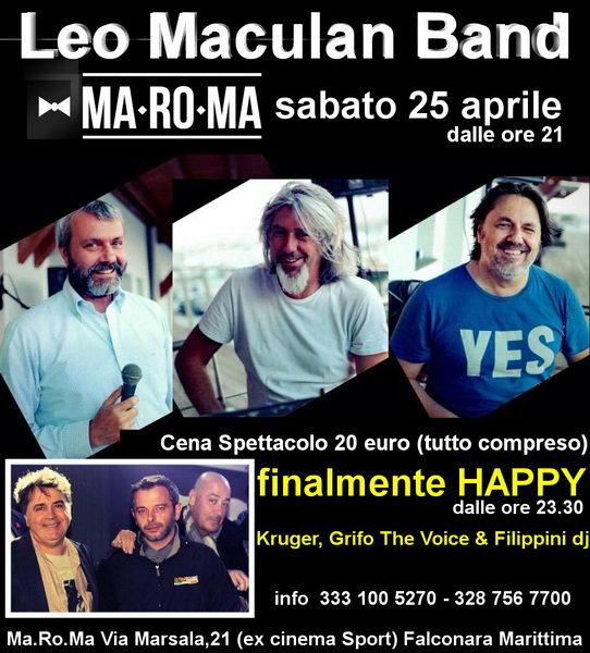 Leo Maculan Band MaRoMa