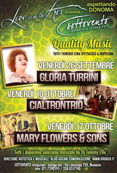 Sottovento_Love_is_in_the_Air_Quality_Music_2014