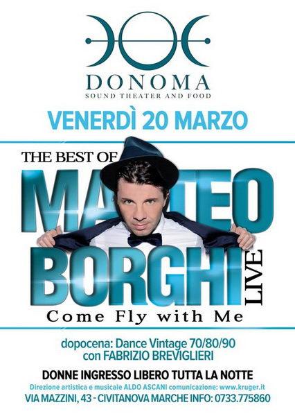 Matteo Borghi Donoma 2015 marzo