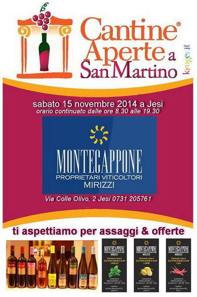 Cantine Aperte San Martino 2014 Vini di Montecappone