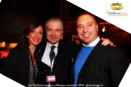 Cristina Biancini Alessandro Scorsone Gianluca Mirizzi Vini di Montecappone di Jesi Vinibuoni d Italia 2015 2