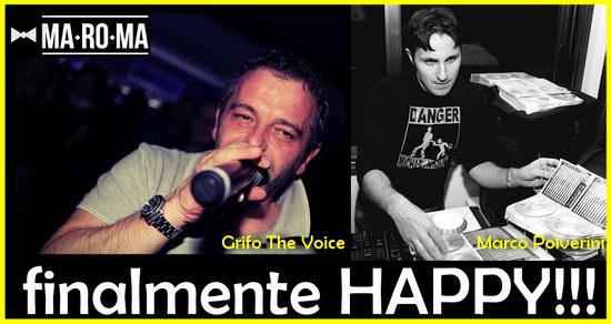 Grifo The Voice Marco Polverini MaRoMa