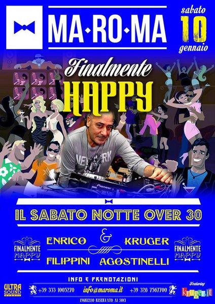 finalmente Happy Enrico Filippini MaRoMa 10 gennaio 2015