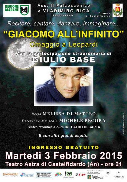 Giacomo allinfinito Castelfidardo 2015