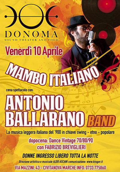Antonio Ballarano Donoma 2015