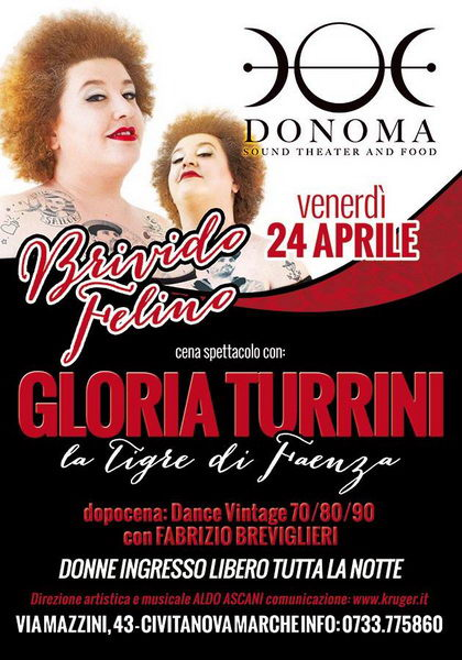 Gloria Turrini Donoma 2015