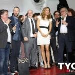 Tyche Magazine inaugurazione 2015 Martina Colombari Pino Scaccia Kruger Agostinelli