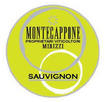 Etichetta spumante Sauvignon Montecappone