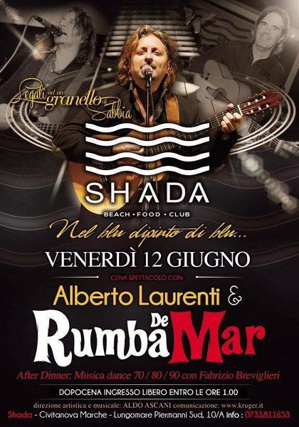 Alberto Laurenti Rumba de Mar Shada giugno 2015