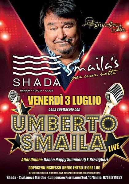 Umberto Smaila Shada 2015