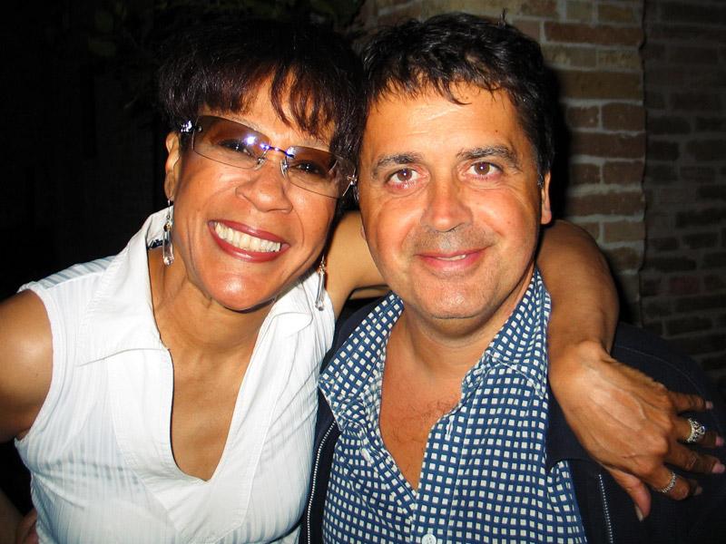 Bettye LaVette e Kruger Agostinelli 6 luglio 2005 Falconara Corte del Catello