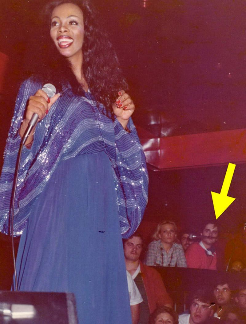Donna Summer e Kruger Agostinelli settembre 1977 Falconara Piranha Club