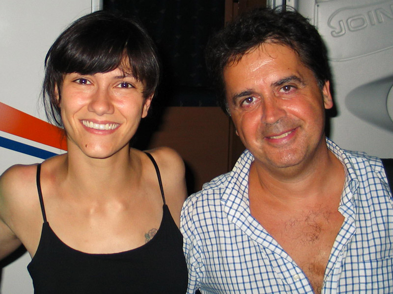 Elisa e Kruger Agostinelli 27 luglio 2005 Falconara Parco del Cormorano