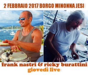 Frank Nastri & Rycky Burattini Borgo Minonna Jesi +