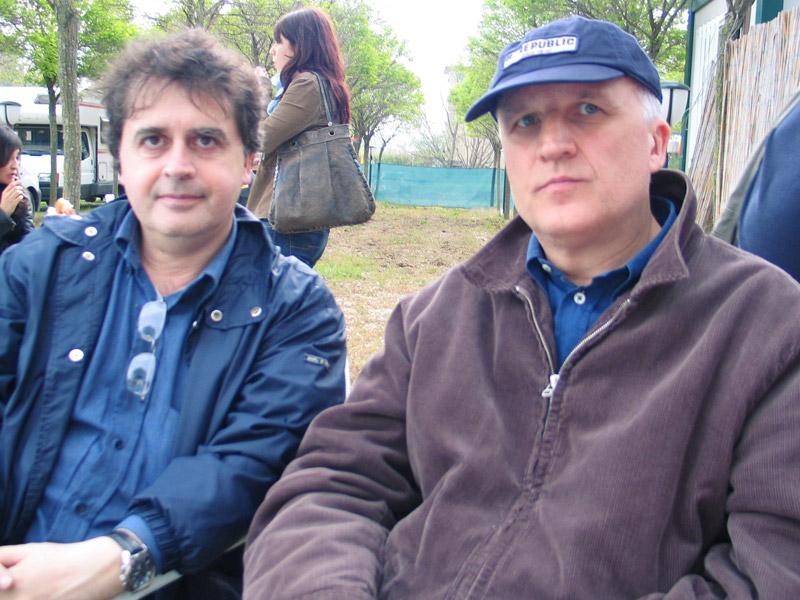 Kruger Agostinelli e Paolo Hendel 1 maggio 2004 Falconara Parco del Cormorano