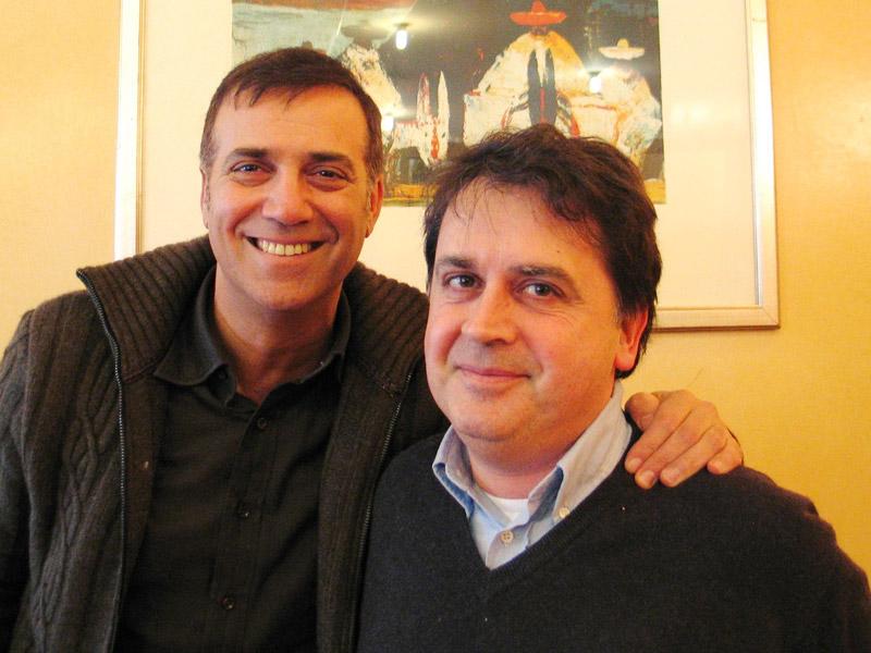 Massimo Ghini e Kruger Agostinelli 7 marzo 2005 Senigallia La Meridiana
