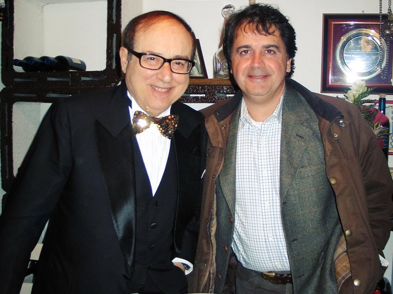 Oreste Lionello e Kruger Agostinelli 8 novembre 2005 Falconara aeroporto Raffaello Sanzio