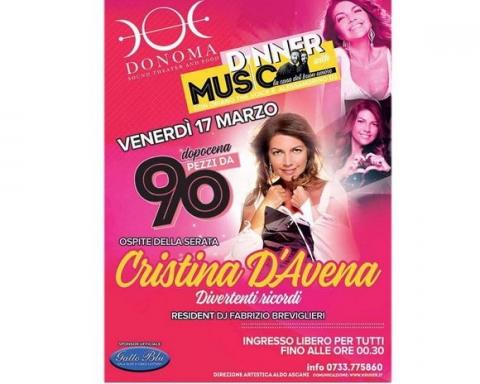 Cristina D'Avena Donoma 2017+