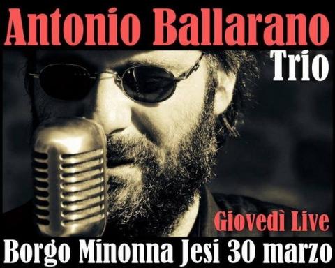 Antonio Ballarano Trio Borgo Minonna Jesi