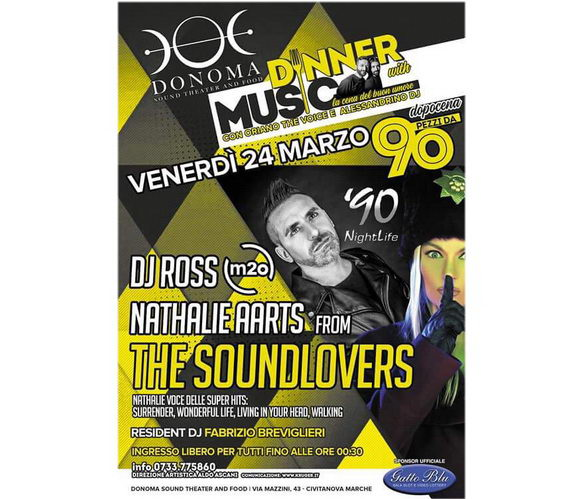 Dj Ross m2o Nathalie Aarts The Soundlovers Donoma 2017