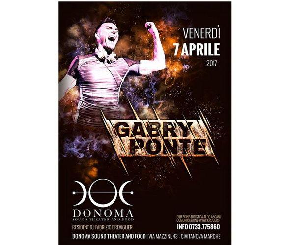Gabry Ponte Donoma 2017