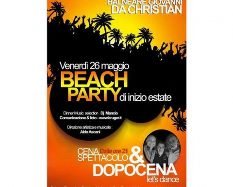 Balneare Giovanni Beach Party Porto Recanati