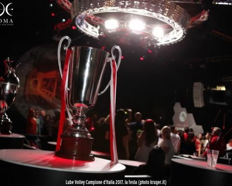 Lube Volley Campione d'Italia al Donoma