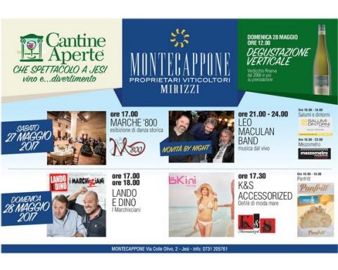 Montecappone Cantine Aperte 2017