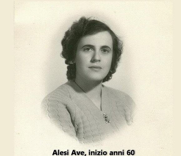 Alesi Ave anni 60