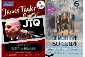 James Tayl Quartet + Dirotta su Cuba Touch Club+