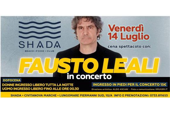 Fausto Leali Shada 2016