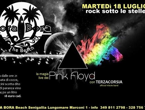 Tersacorsia tributo Pink Floy Bora Bora Senigallia +