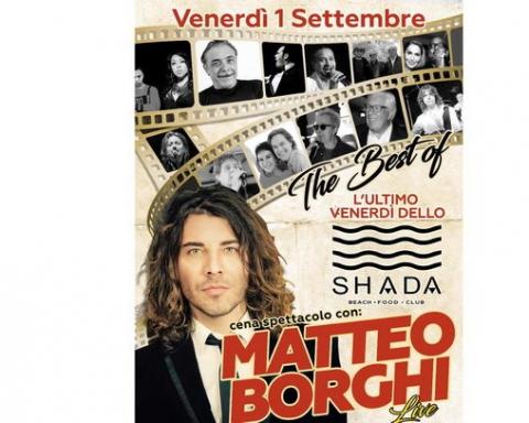 Matteo Borghi Shada settembre 2017