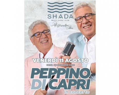 Peppino di Capri Shada 2017