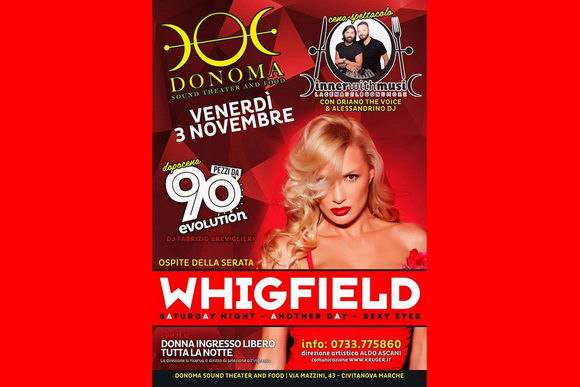 Whigfield Donoma 2017