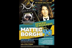 Matteo Borghi Donoma novembre 2017