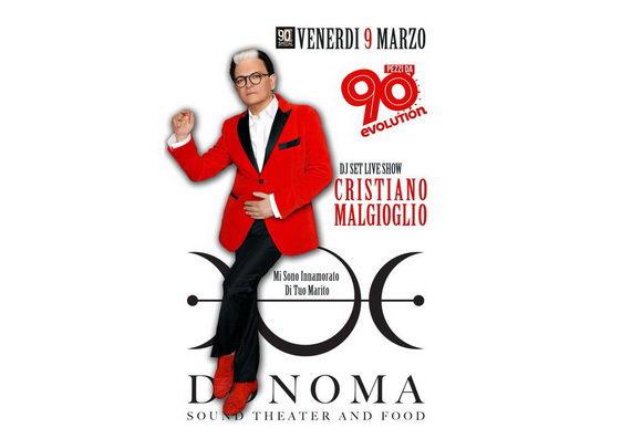 Cristiano Malgioglio Donoma 2018