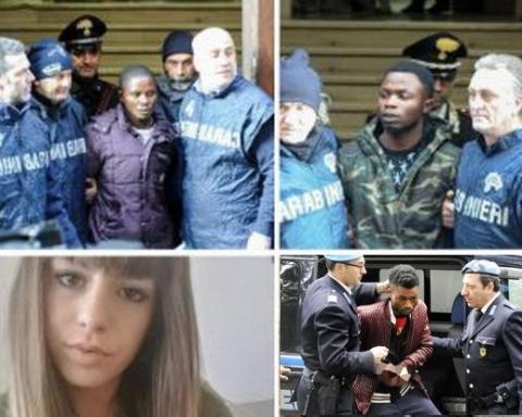 Pamela e nigeriani arrestati a Macerata