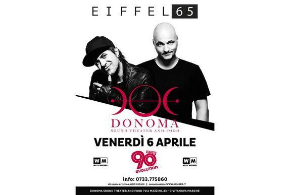 Eiffel 65 Donoma 2018