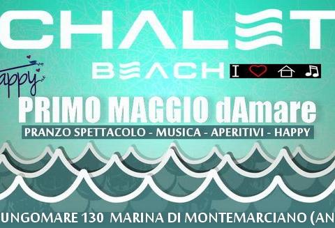 1 maggio dAmare Chalet Beach