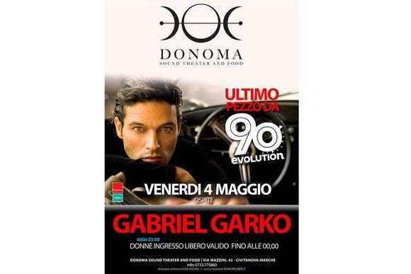 Gabriel Garko Donoma 2018